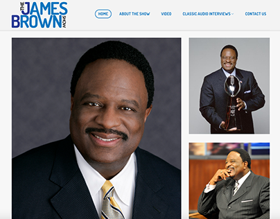 The James Brown Show Website and Logo