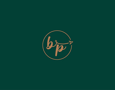 B & P visual branding concept design.