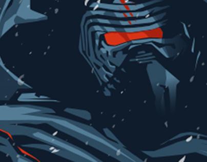 Kylo Ren: Star Wars the force awakens