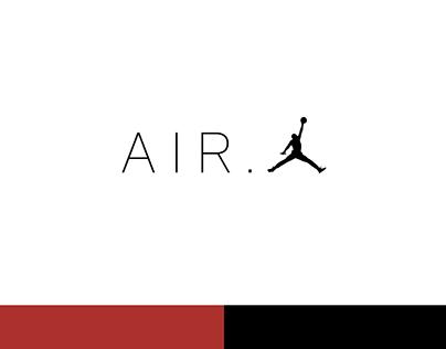 AIR.JORDAN logo design