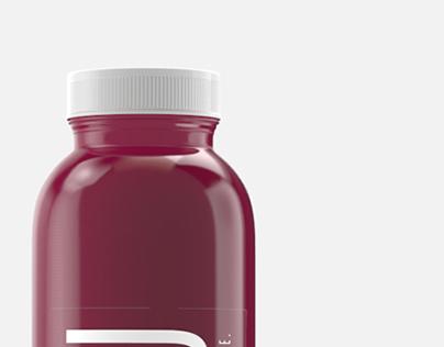 Real Cold Press Juice Bottles