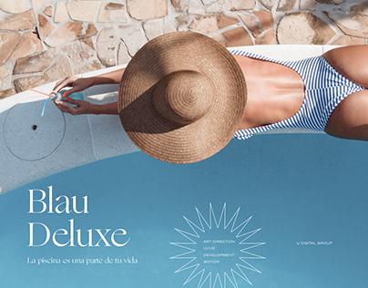 Blau Deluxe - Web design
