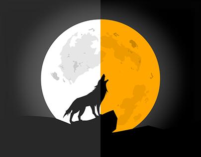 Wolf Illustration | Just An Idea