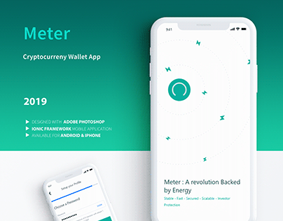 Meter - Cryptocurrency Wallet Mobile App