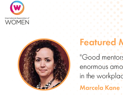 Marcela Kane Lantrip: Influencer of the Year by the IAW