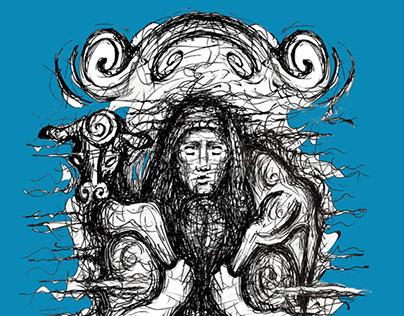 Moschophoros -Blue version