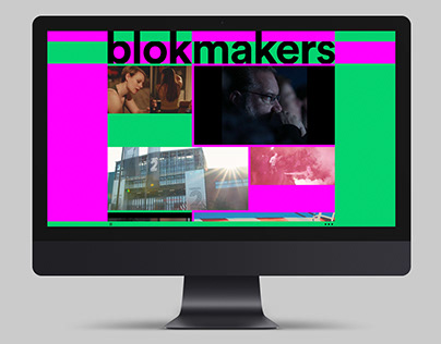Blokmakers Identity + Website