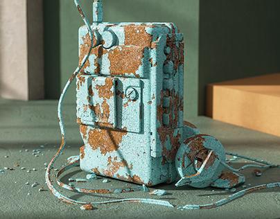 Discarded Technology / CGI Art