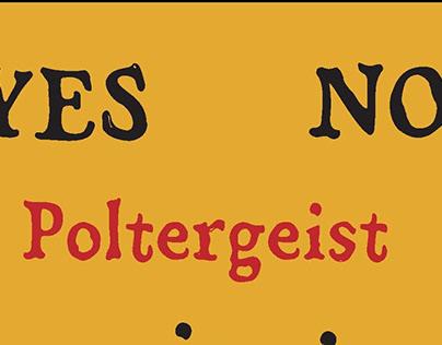 Poltergeist Typeface