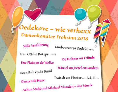 Plakat Karneval