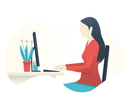 Animation pour une agence web
