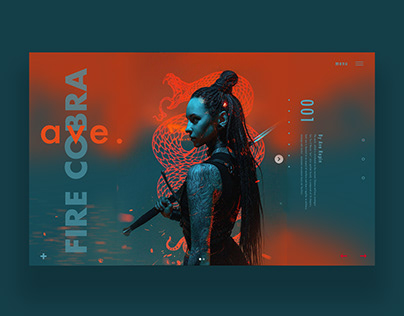 Fire Cobra Web Ui Design
