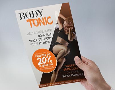 Body Tonic - Flyer