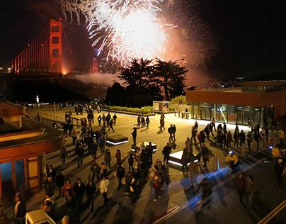 Golden Gate Bridge Plaza
