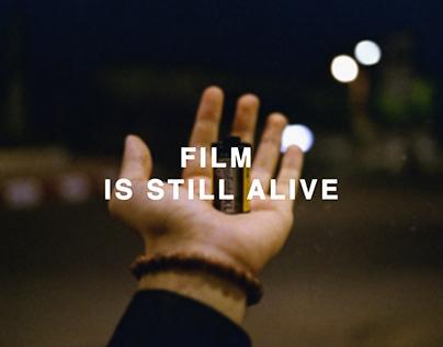 FILM IS STILL ALIVE