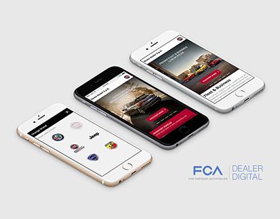 FCA Digital Dealer - UI/UX