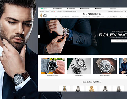 Moncriefe Men's Watches Shopify Theme By ITGeeks