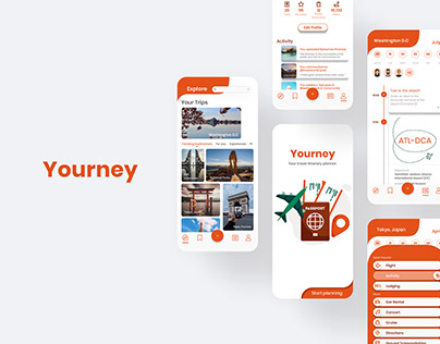 Yourney: Travel Itinerary Planning App UX Case Study