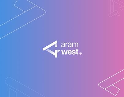 Aramwest Logo Branding
