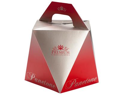 Embalagem Panetone - Premium Chocolates