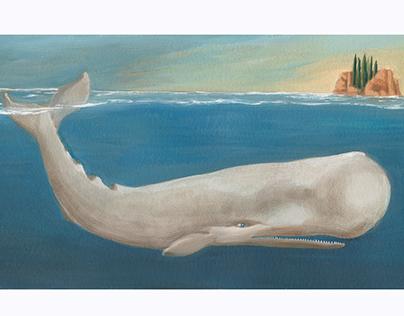 """Pinocchio """"The whale"""" BlackCat Dea"""