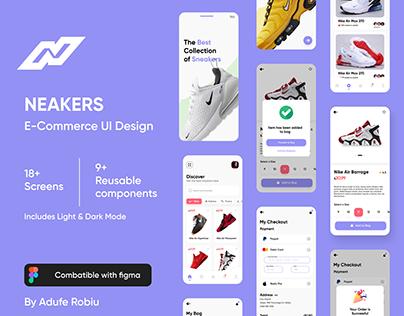 Neakers UI Design
