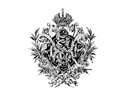 Drawing old heraldic illustrations