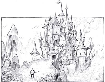 Castle sketch