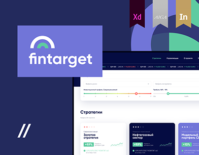 Investment strategy Fintech Dashboard | UI/UX
