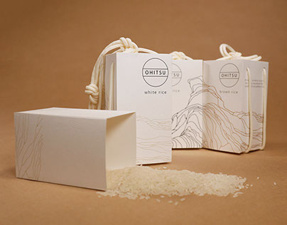 Ohitsu Rice Packaging