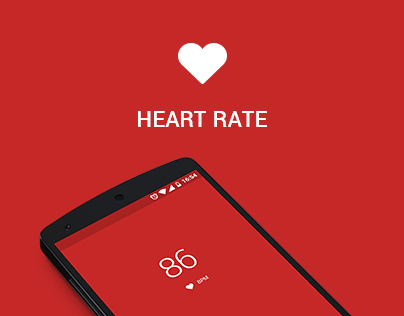 Heart rate app - Android
