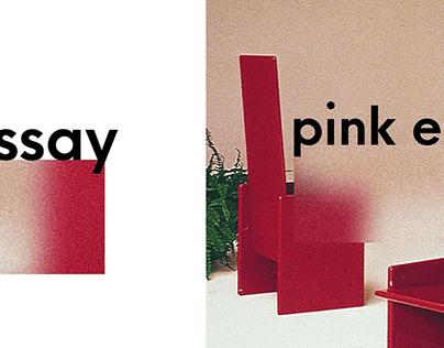 Logo Design for Pink Essay