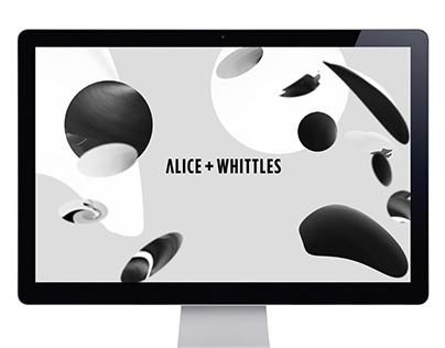 Alice + Whittles Website