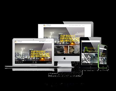 Latina Web & Corporate Booklate Consept
