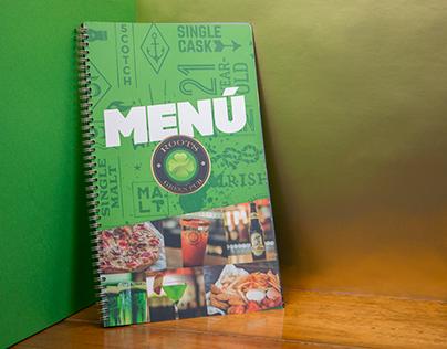 Roots Green Pub | Menú Design