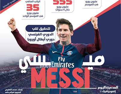 Messi Almasry Alyoum Infographic
