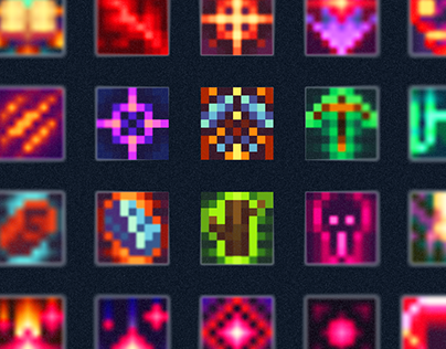 Pixel Icons Pack