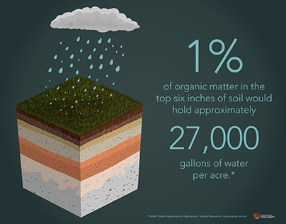 Healthy Soil Holds Water!