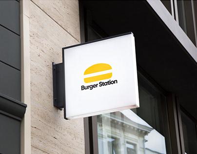 Burger Logo Design Concept