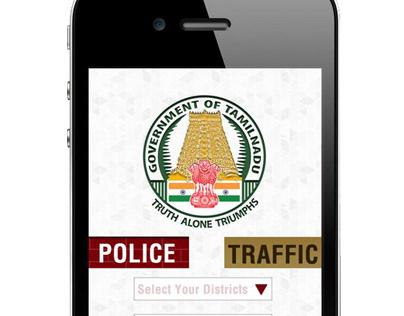 Mobile App for Police & Traffic