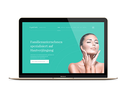 MyEsthetic.de Brand ID Development