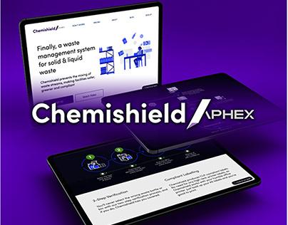 Chemishield Rebrand 2020 - Web Design by Aphex