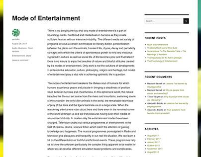 Creative Writer's Blog