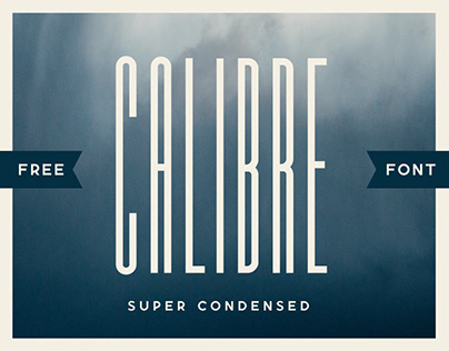 (FREE FONT) CALIBRE SUPER CONDENSED