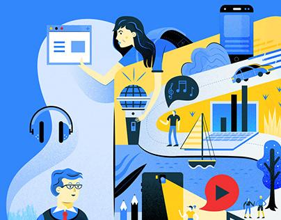 Learnosity Website Illustrations