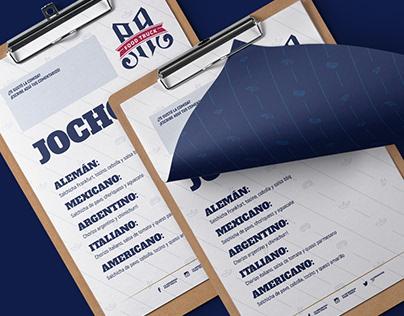 Branding for: La Andariega
