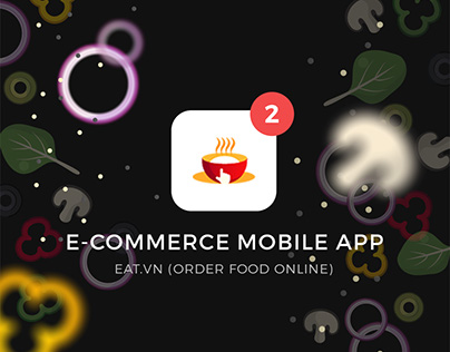 E-commerce mobile app EAT.vn (Order food online)