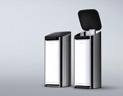 Odor blocking Trash can