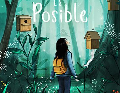 """Portada """"Donde todo es posible"""" Autora: W.Ama. Planeta."""