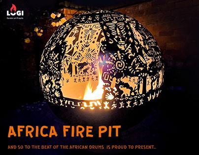 "fire bowl ""Africa"""